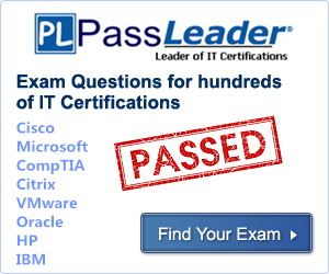 Valid Passleader PDF And VCE Questions